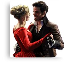 Captain Swan Fairytale Canvas Print