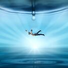 falling by Cliff Vestergaard