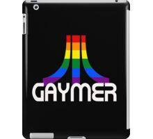 Retro Rainbow Gamer GAYmer iPad Case/Skin