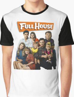 Full House Graphic T-Shirt