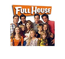 Full House Photographic Print