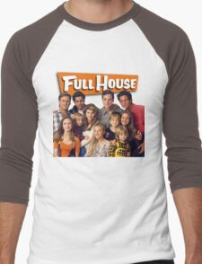 Full House Men's Baseball ¾ T-Shirt
