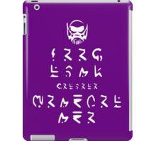 KEEP CALM because HE LOVES YOU (in SDFSDGF) iPad Case/Skin