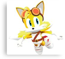 Tails - Sonic Boom Canvas Print