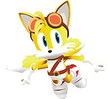 Tails - Sonic Boom Photographic Print