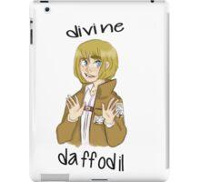 divine daffodil iPad Case/Skin