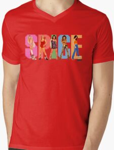 SPICE GIRLS Mens V-Neck T-Shirt
