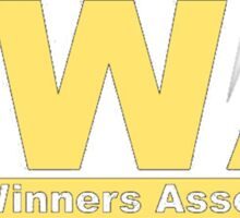BWA Bread Winners Association  Sticker