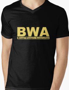 BWA Bread Winners Association  Mens V-Neck T-Shirt