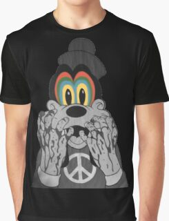 Trippy Goofy Graphic T-Shirt