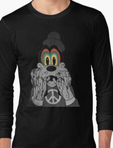 Trippy Goofy Long Sleeve T-Shirt