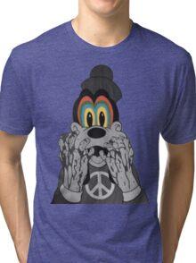 Trippy Goofy Tri-blend T-Shirt