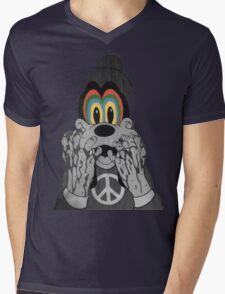 Trippy Goofy Mens V-Neck T-Shirt