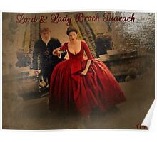 Lord & Lady Broch Tuarach oil painting Poster