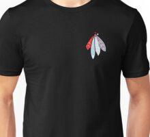 Blackhawks Feathers - Chicago Theme  Unisex T-Shirt