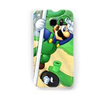 Flagpole Luigi Samsung Galaxy Case/Skin