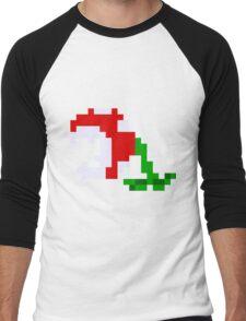 Piranha Plant Men's Baseball ¾ T-Shirt