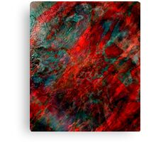 Ruby Abyss Canvas Print