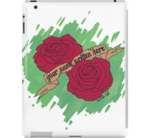 Rose Tattoo  iPad Case/Skin
