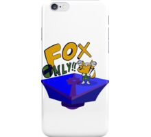 FOX ONLY! iPhone Case/Skin