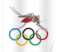 Blood Test at the Olympics Poster