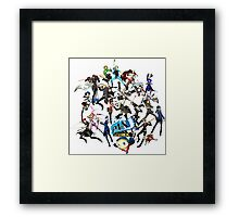 PERSONA 4 ARENA ULTIMAX Framed Print