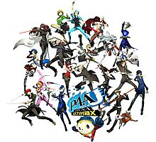 PERSONA 4 ARENA ULTIMAX Photographic Print