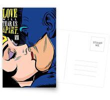Love Vigilantes by Butcher Billy Postcards