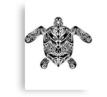 Turtle Tribe Canvas Print