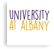 University at Albany - HANDWRITTEN Canvas Print