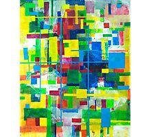Blocks - Grid Photographic Print