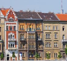 Apartments beside the Danube Sticker
