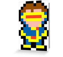 Pixel Cyclops Greeting Card