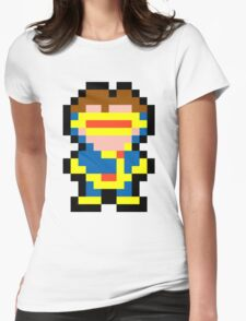 Pixel Cyclops Womens Fitted T-Shirt