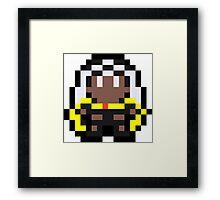 Pixel Storm Framed Print