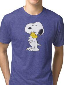 hug Peanuts Snoopy Tri-blend T-Shirt