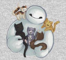 love it baymax cat Baby Tee