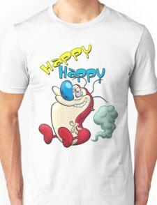 Happy Happy Stimpy Gas Unisex T-Shirt