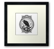 eagle skull Framed Print