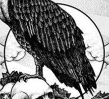 eagle skull Sticker