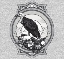 eagle skull One Piece - Long Sleeve