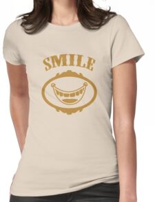 Smile for the Camera funny nerd geek geeky Womens Fitted T-Shirt
