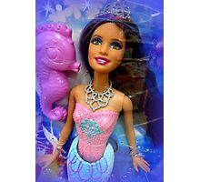 Mermaid Doll Photographic Print