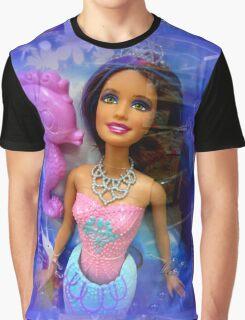 Mermaid Doll Graphic T-Shirt