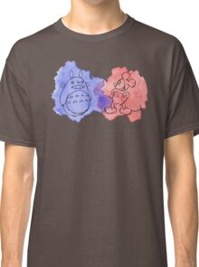 watercolour totoro Classic T-Shirt