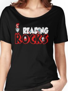 READING ROCKS - READ ACROSS AMERICA DAY Women's Relaxed Fit T-Shirt