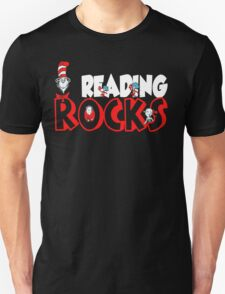 READING ROCKS - READ ACROSS AMERICA DAY Unisex T-Shirt