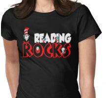 READING ROCKS - READ ACROSS AMERICA DAY Womens Fitted T-Shirt