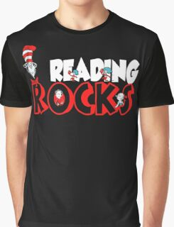READING ROCKS - READ ACROSS AMERICA DAY Graphic T-Shirt