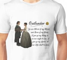 Outlander Wedding Vow Unisex T-Shirt